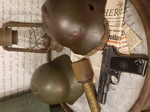 Original Ssh36, Finnish winter war trophy.