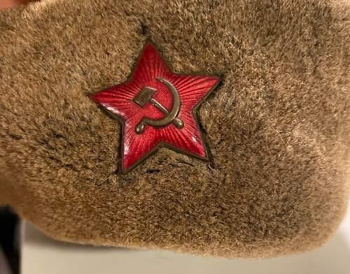 Ushanka wartime ?
