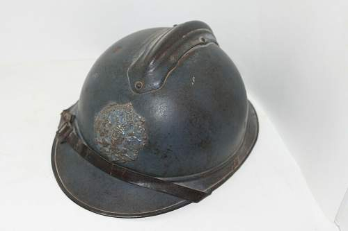 Thoughts on this Blue Russian Adrian Helmet?