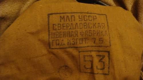 Russian Tank head gear.