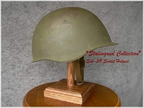 Click image for larger version.  Name:soviet39 helmet1.JPG Views:375 Size:225.0 KB ID:17610