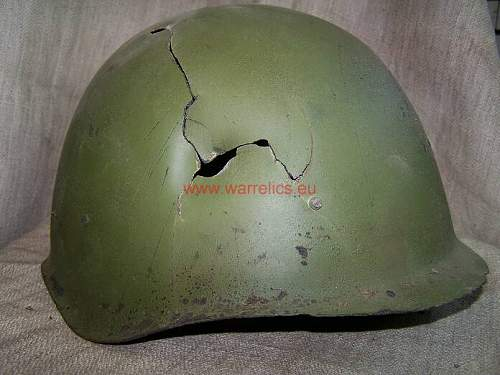 SSch 40 Soviet Russian steel helmet