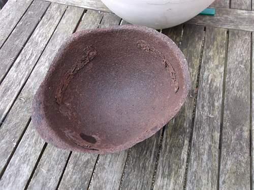 SSH-41 Helmet Relic from Berlin