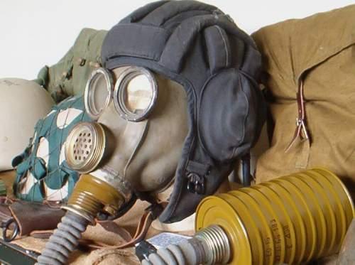 Russian gas mask, tank helmet, goggles in movie the BEAST 1988 [Afghanistan]