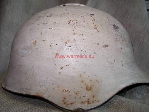 Very early SSch 36 Soviet steel helmet