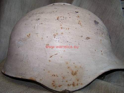 Very early SSch 36 Soviet steel helmet