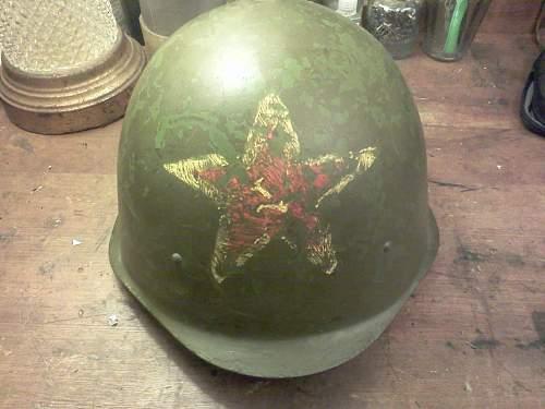 Unknown Russian Helmet