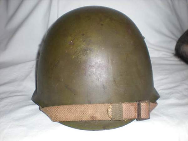 My SSCH-39 helmet with a story