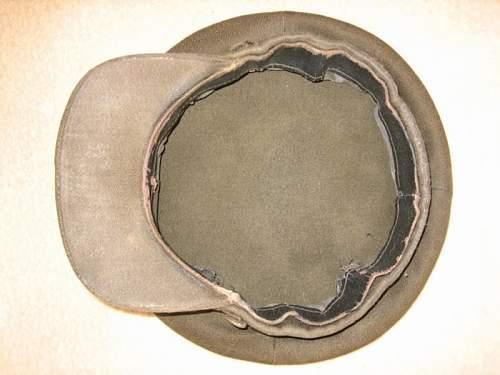 M41 visor hat