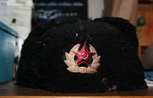 Help needed with Russian ushanka
