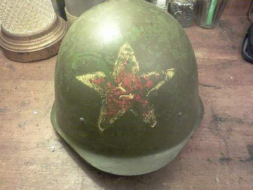 Help with Soviet Helmet