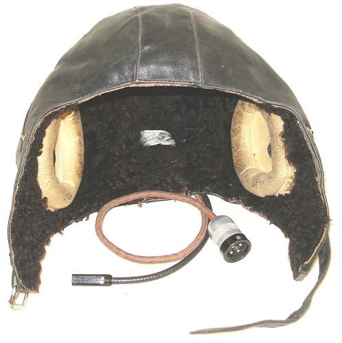 WWII Soviet leather flight helmet - your opinions please