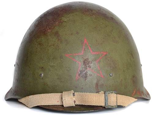 Wartime SSh 40 with red star - opinions needed