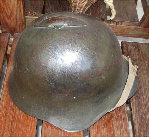 Soviet M36 steelhelmet, early