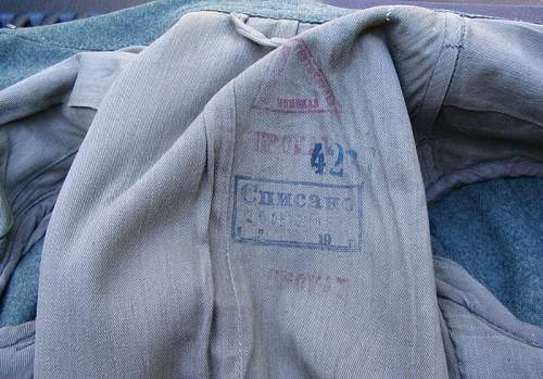 Soviet stamps in TR headgear/tunics