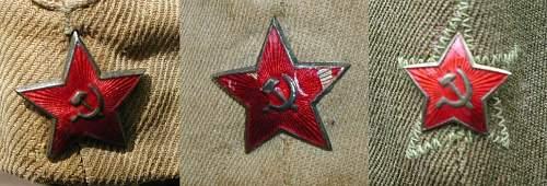3 x WW2 Pilotka for opinions please