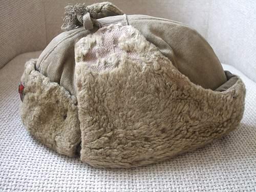 A well worn Ushanka !!