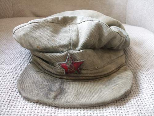 Salty Russian Cap !!