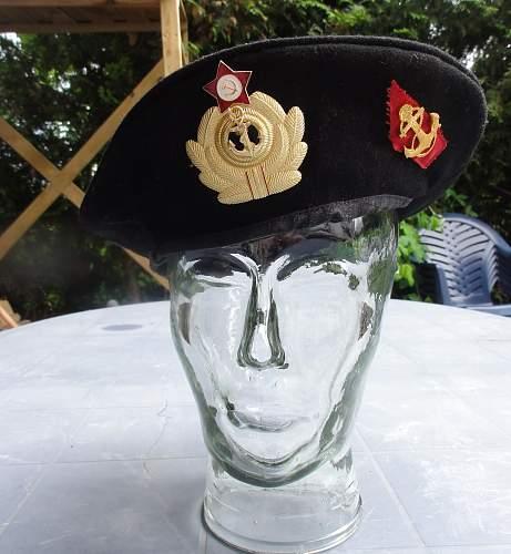 Unknown Soviet hat. Please advise.