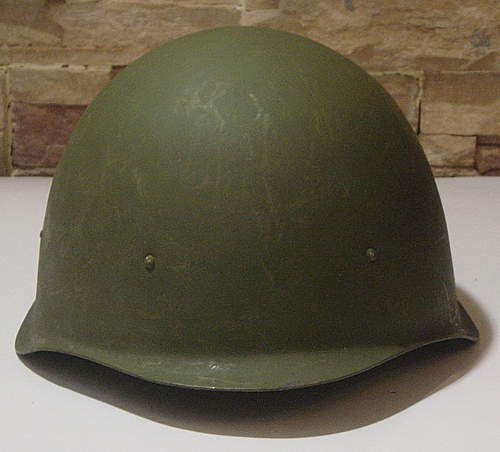 Original Early post-war MINTY SSh 40 Helmet????