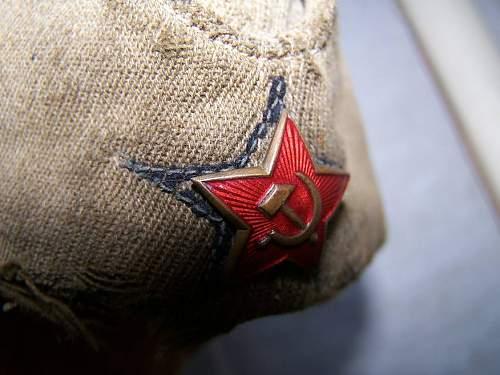 M 35 NCO pilotka, artillery