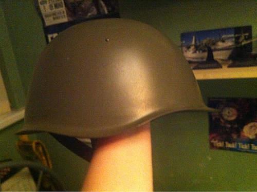 Russian helmet needs identifying!