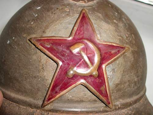 Soviet Adrian Helmet?