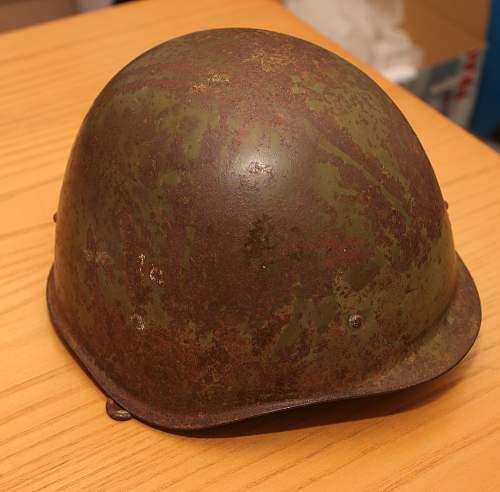 Russian Ssh40 helmet, help please