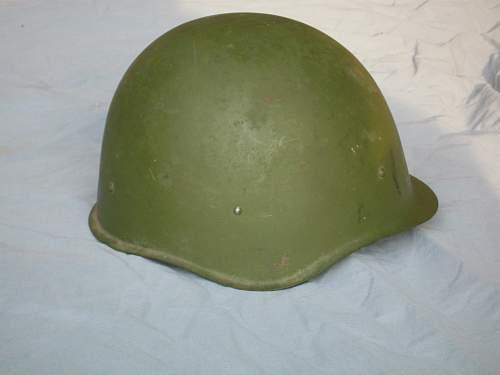 Ssh40 Helmet WWII or Post War?