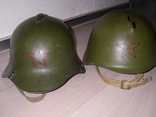 Proper paint for restorations of SSh-36, and SSch-40 kaska