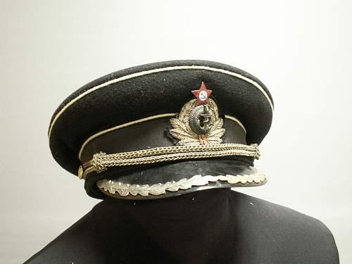 Colonels cap. Navy Coast Guard