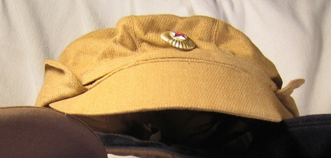 Visor and Field Cap to ID