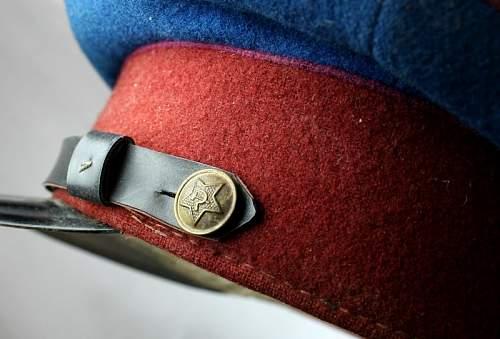 NKVD and MGB Caps