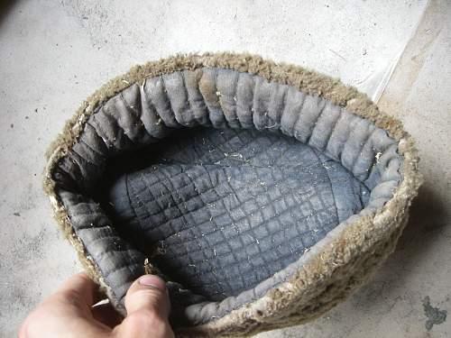 "Unkown sheepskin ""papaha"" winter hat."