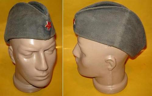Is this a soviet WW2 cap??