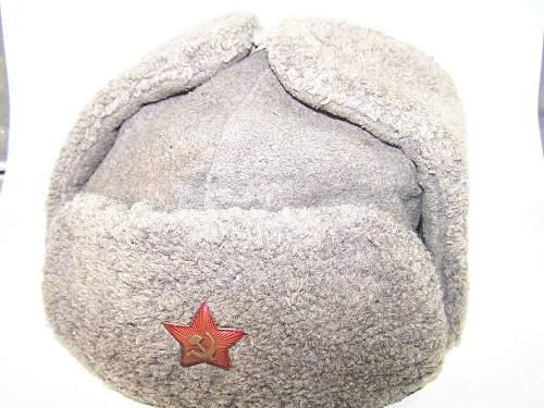 M 40 winter hat Ushanka or Pyzhyk