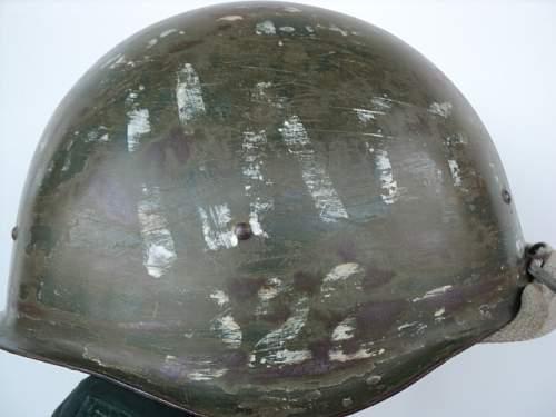 Click image for larger version.  Name:WW2 Original Russian helmet SSH-40d.JPG Views:93 Size:145.3 KB ID:586155