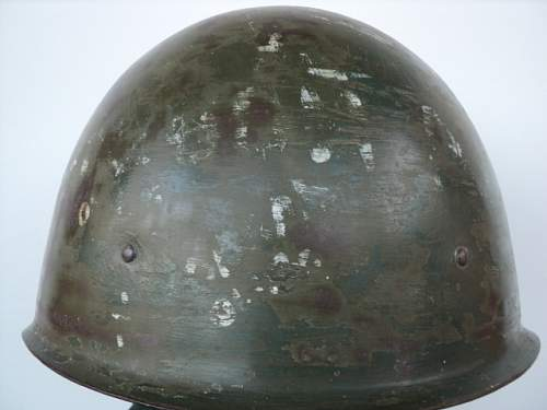 Click image for larger version.  Name:WW2 Original Russian helmet SSH-401.JPG Views:66 Size:141.8 KB ID:586159
