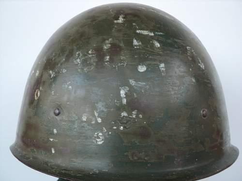 Click image for larger version.  Name:WW2 Original Russian helmet SSH-401.JPG Views:118 Size:141.8 KB ID:586159