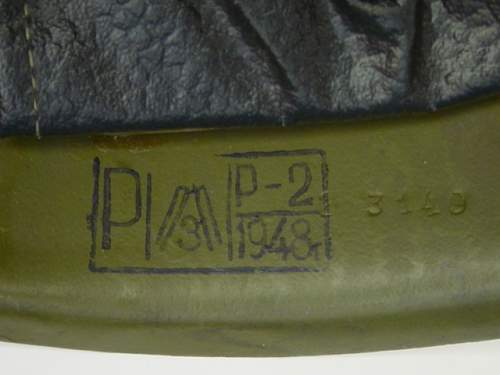 Click image for larger version.  Name:1948 dated M40 helmet.jpg Views:149 Size:134.0 KB ID:586167