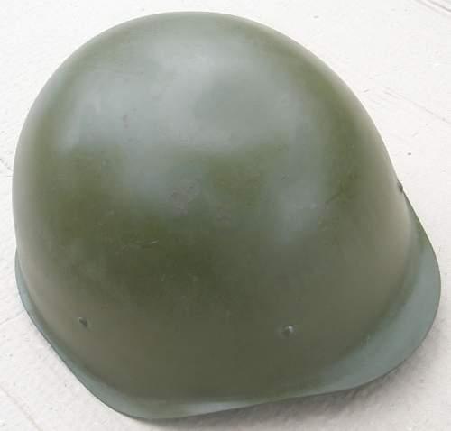 Unissued LMZ SSH40 Helmet with original paint !?