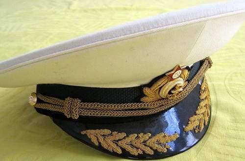 Original post war Soviet general Parade Dress Visor?!