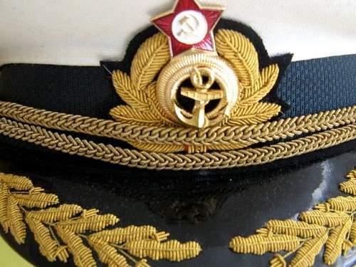 Click image for larger version.  Name:Admiral Parade Dress Visor1.JPG Views:108 Size:70.0 KB ID:600535
