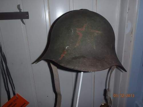 Wonderful Russian helmet for sale here in Finland