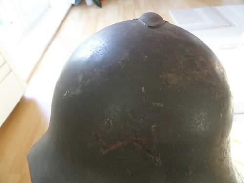 2x Russian helmets Finnish vet bring homes