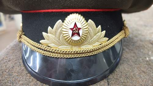 Can you tell me what I have? Soviet Headgear