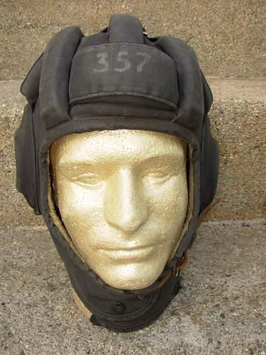 Canvas Tankist Helmet