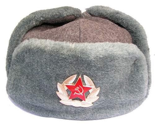 Modern Russian federation ushankas.