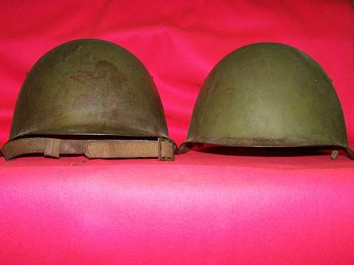 Soviet helmets. Difference between SSch 39 and 40 helmets