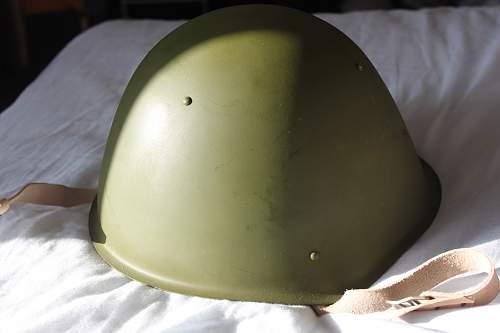 Need help in identifying possible Russian helmet!
